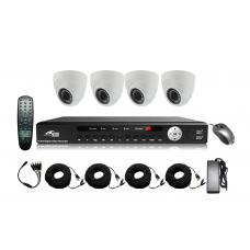 Kamerový set  SECRON - AHDOV21D-UE20